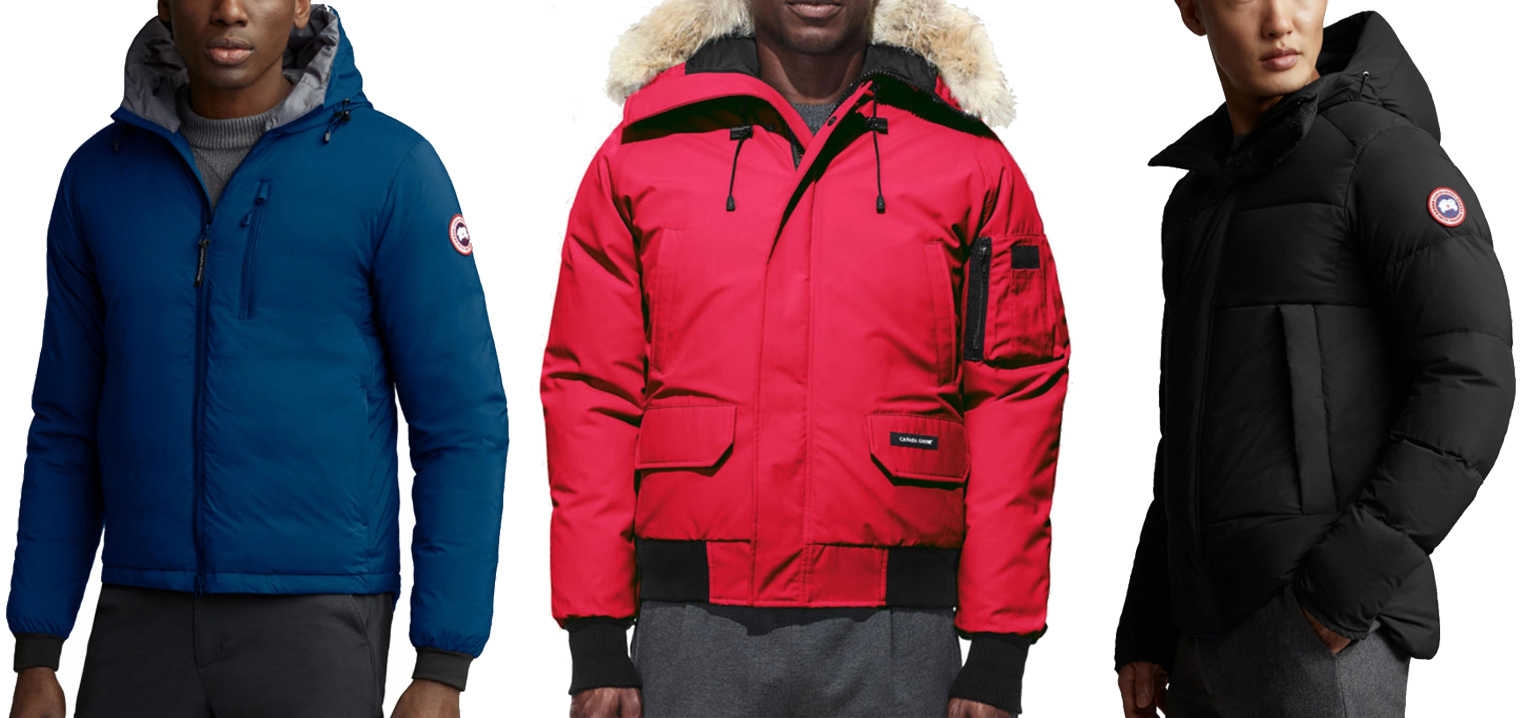CANADA GOOSE men's collection