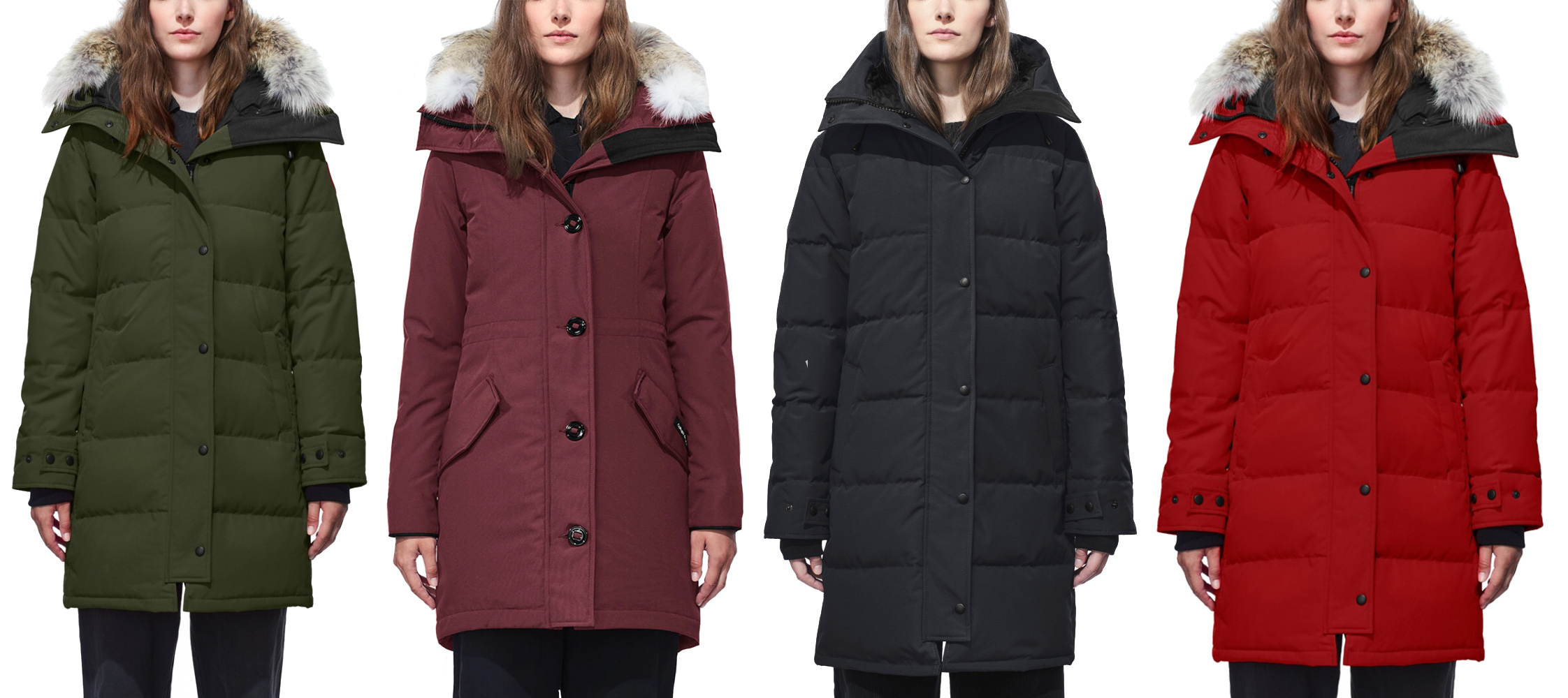 CANADA GOOSE women's collection