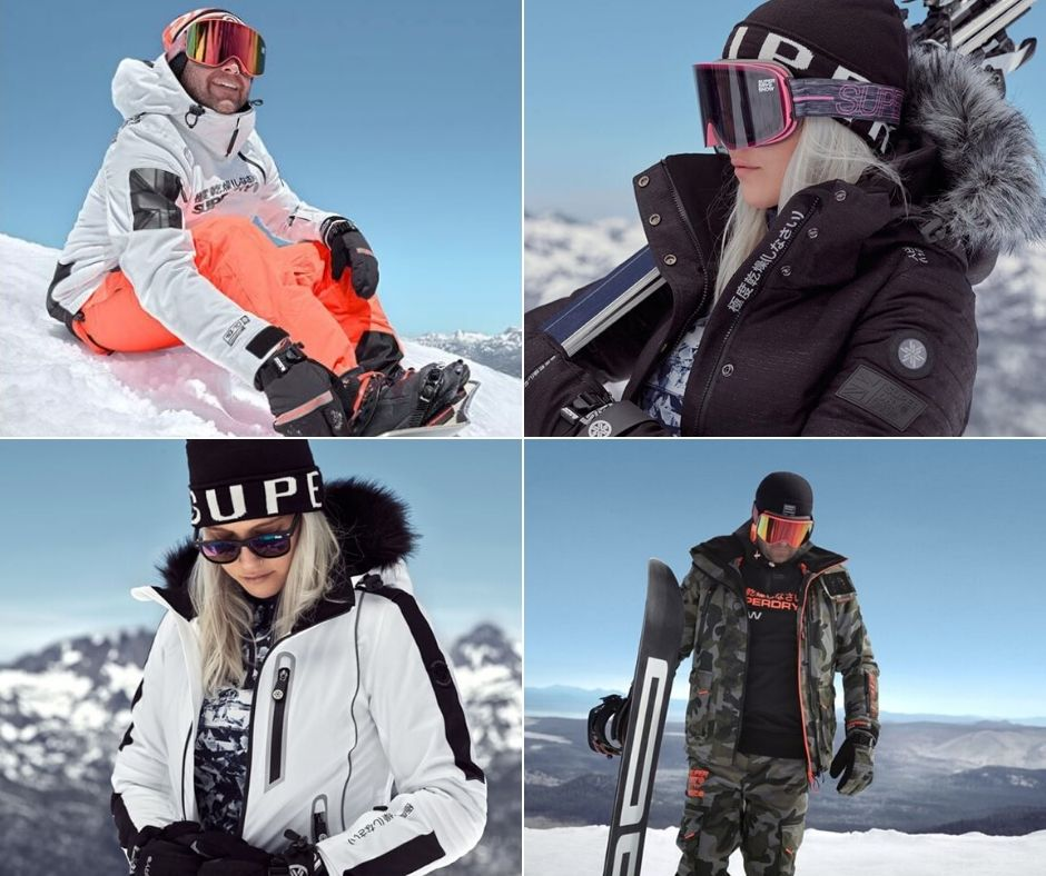 SUPERDRY SKIWEAR: TOWARDS THE SUMMITS