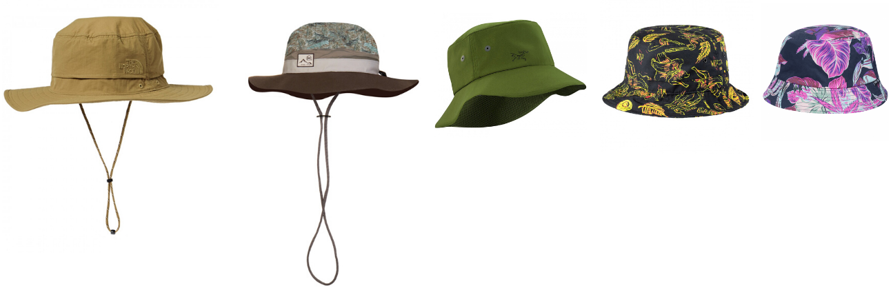hiking hats