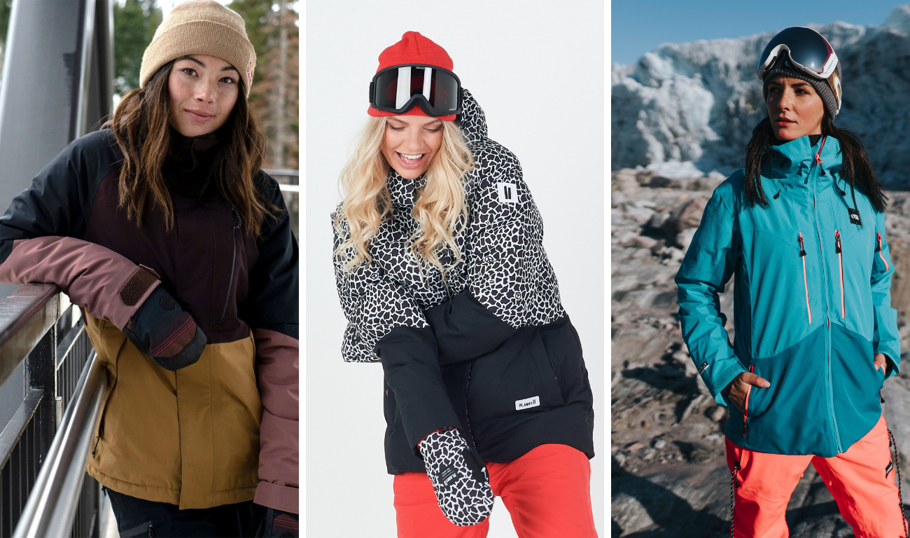 WOMEN'S SKI JACKET: STYLE ON THE SLOPES