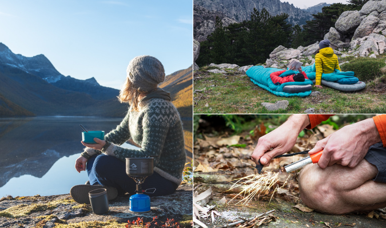 CAMPING : ALL THE NECESSARY EQUIPMENT